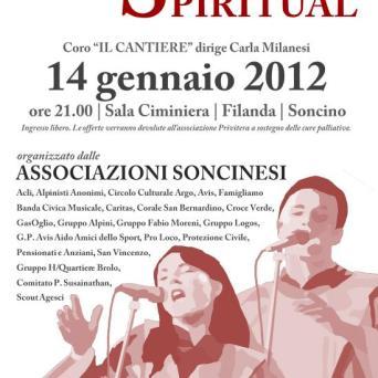 locandina gospel