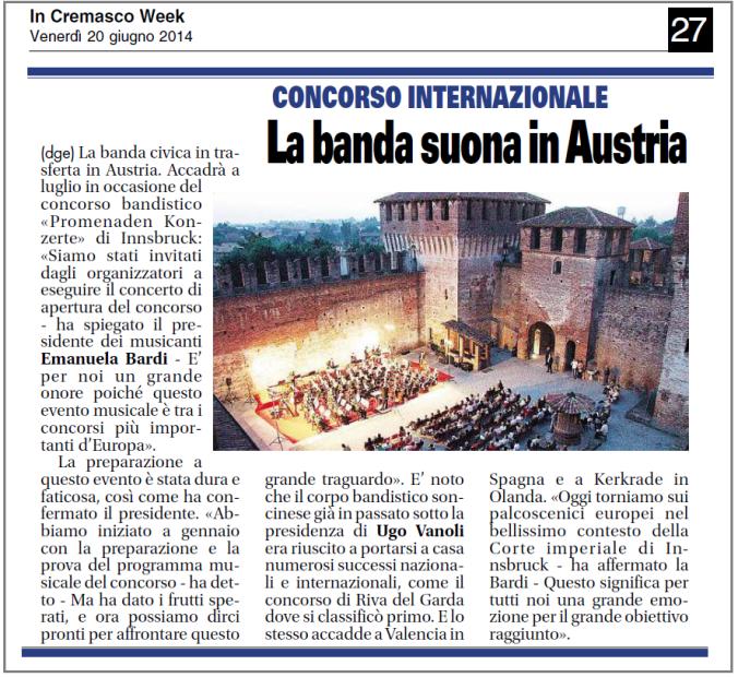 2014_06_20 La Banda va in Austria InCremascoWeek