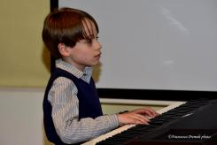 Francesco Taboni al pianoforte