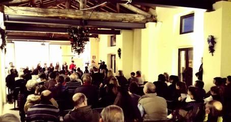 Il numeroso pubblico in sala