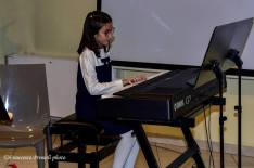 Valentina Piccioni al pianoforte